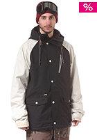 HOLDEN Varsity Jacket black/bone