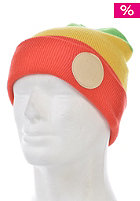 HOPPIPOLLA Alek Oestreng Signature Beanie green/yellow/red
