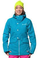HORSEFEATHERS Womens Corine Snowboard Jacket blue dot