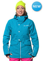 HORSEFEATHERS Womens Corine Snowboard Jacket blue dot