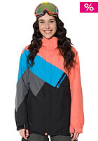 HORSEFEATHERS Womens Orbit Jacket coral