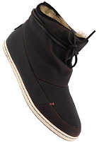 HUB Womens Queen dark brown/white