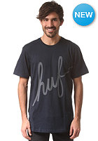 HUF Big Script S/S T-Shirt navy