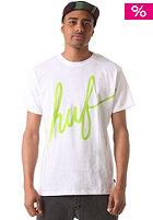 HUF Big Script S/S T-Shirt white