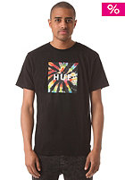 HUF Box Logo Fill The Dye S/S T-Shirt black