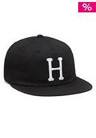 HUF Classic H 6 Panel Cap black