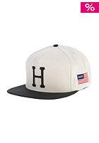 HUF Classic H Snapback Cap cream