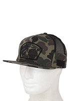 HUF DBC Side Mesh Snapback Cap dark camo