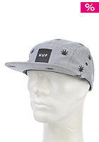 HUF Embroidered Plant Life Volley Cap black oxford