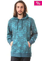 HUF Floral Hooded Sweat navy floral