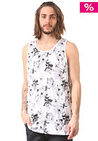 HUF Floral Tank Top white / black