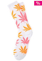 HUF Glow In The Dark Plantlife Sock white