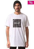 HUF Marble Box Logo T-Shirt white