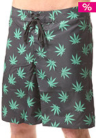 HUF Plantlife Boardshort black / green