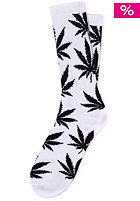 HUF Plantlife Crew Sock white/black