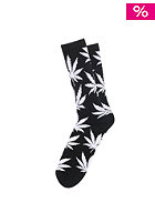 HUF Plantlife Crew Socks black