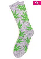 HUF Plantlife Crew Socks gray