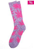 HUF Plantlife Crew Socks purple heather