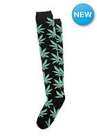 HUF Plantlife Knee Highs black / green