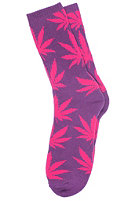 HUF Plantlife Socks purple pink