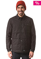 HUF Quilted Snap Work black