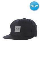HUF Reflective Box Logo Snapback Cap black