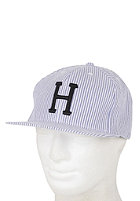 HUF Seersucker Classic H Snapback Cap royal