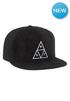 HUF Triple Triangle Snapback Cap black