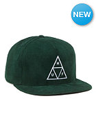 Triple Triangle Snapback Cap forest