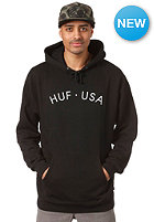 HUF USA Hooded Sweat black