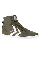 HUMMEL Slim Stadil Canvas High ivy green