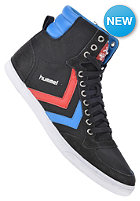 HUMMEL Slimmer Stadil High Canvas black/blue/red/gum