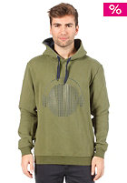 HUM�R Chian Hooded Sweat chive