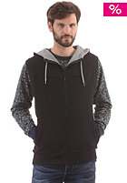 HUM�R Dazizi S.Less Hooded Zip Sweat jet black