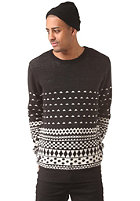 HUM�R Dollar Knit Sweat jet black mel