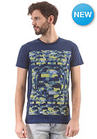 HUM�R Jakato S/S T-Shirt estate blue