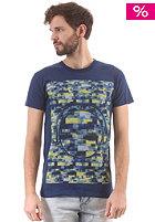 HUM�R Jakato S/S T-Shirt estate blue