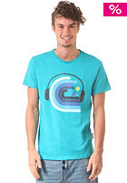 HUM�R Jakato S/S T-Shirt tile blue