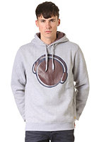 HUM�R Longo Hooded Sweat grau melange