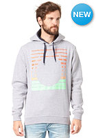 HUMR Longo Hooded Sweat grey melange