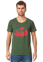 HUM�R Neu S/S T-Shirt dark green