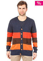 HUMR Onnatop Knit Cardigan dress blues