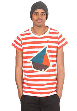 HUM�R Sail S/S T-Shirt sevente red