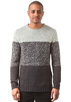 HUM�R Sheik Knit Sweat l. grey melange