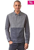 HUM�R Shutt L/S Shirt dress blues