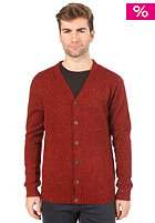 HUM�R Sidney Knit Cardigan russet brown