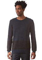 HUM�R Snawy Knit Sweat dress blues