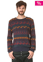 HUM�R Thomas Knit Sweat marineblau