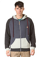 HUM�R William Sweat Cardigan grau melange