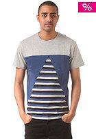 HUM�R Wulfo S/S T-Shirt l. grey melange